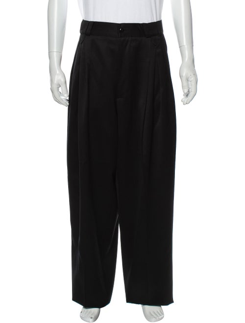 Gianni Versace Wool Dress Pants Wool