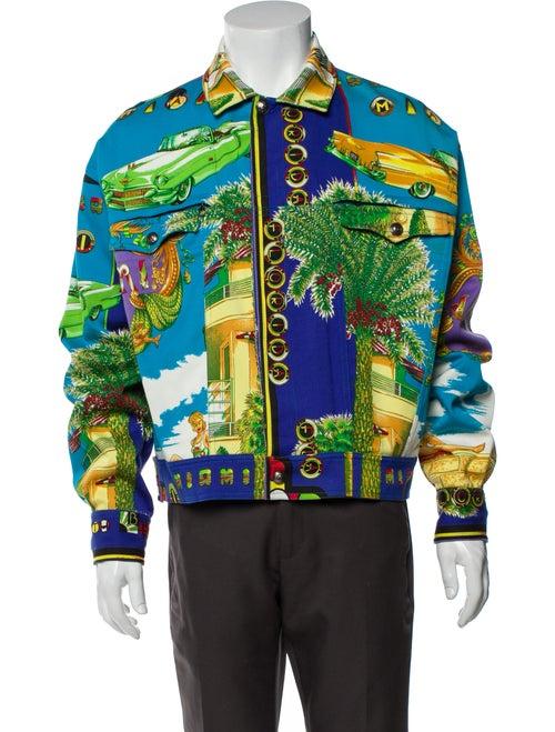 Gianni Versace Vintage 1990's Denim Jacket Denim