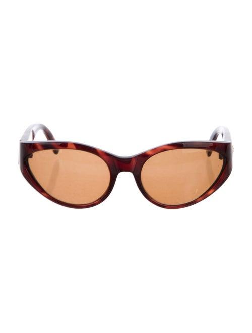 Gianni Versace Cat-Eye Tinted Sunglasses Brown - image 1