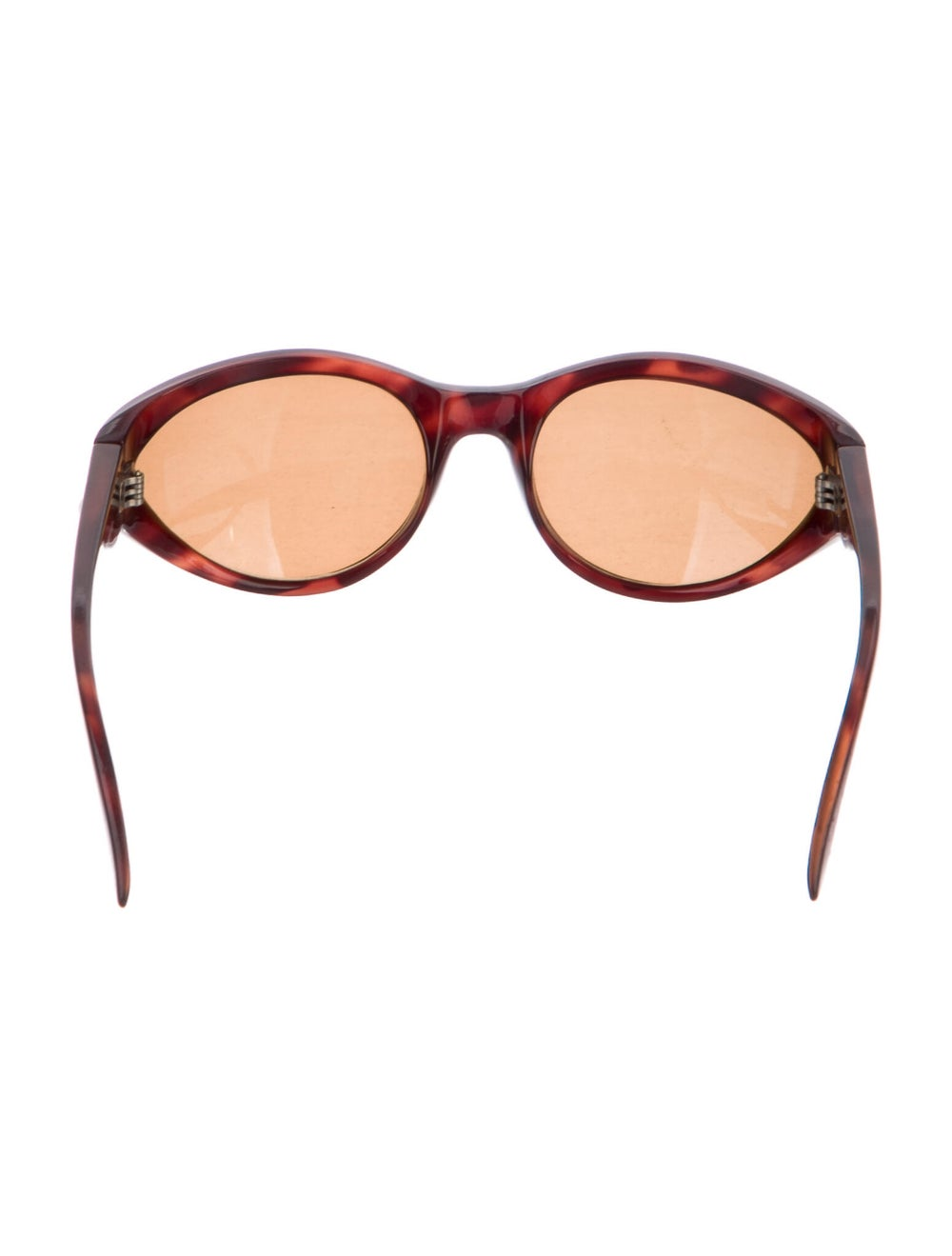 Gianni Versace Cat-Eye Tinted Sunglasses Brown - image 3