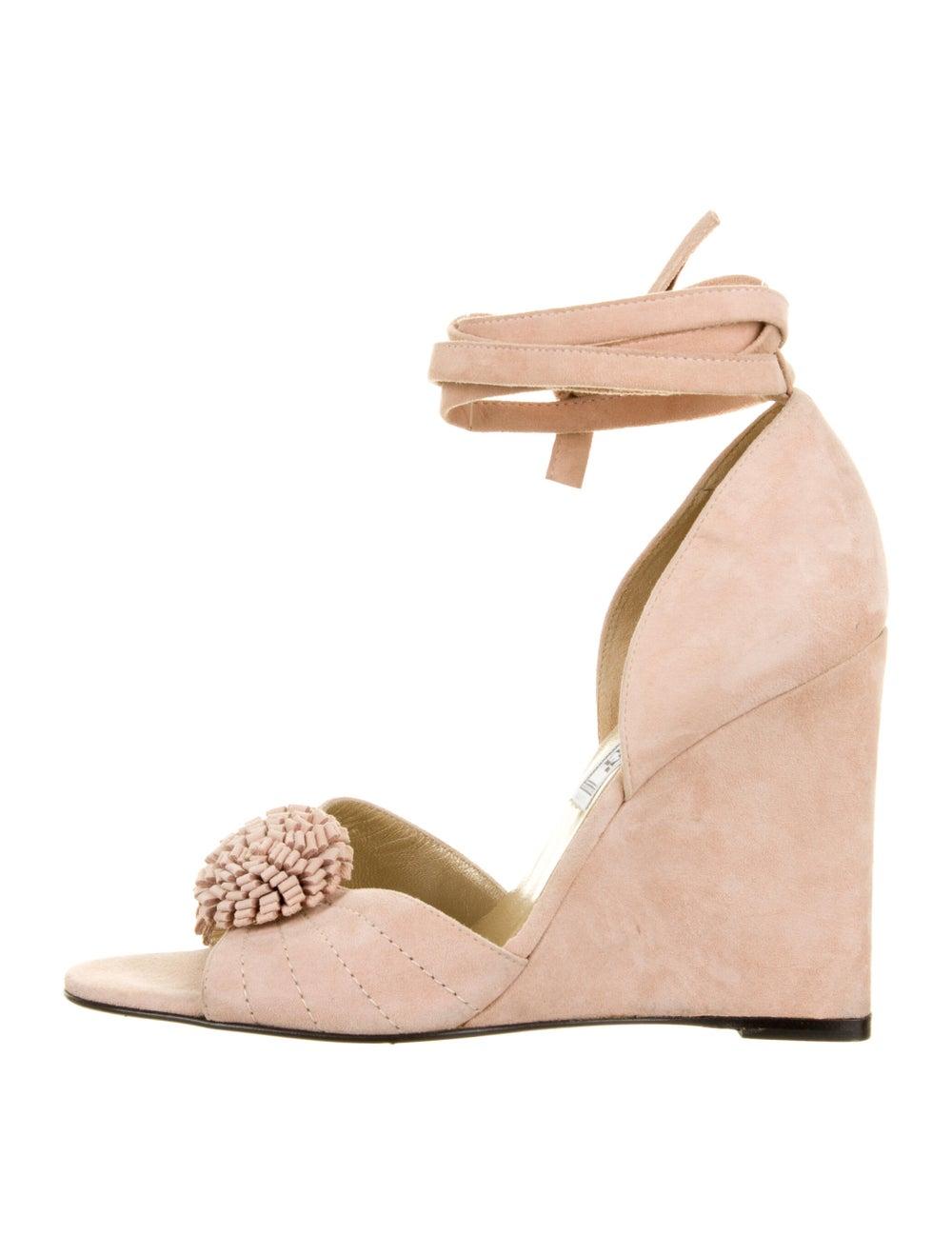 Gianni Versace Vintage Suede Sandals - image 1