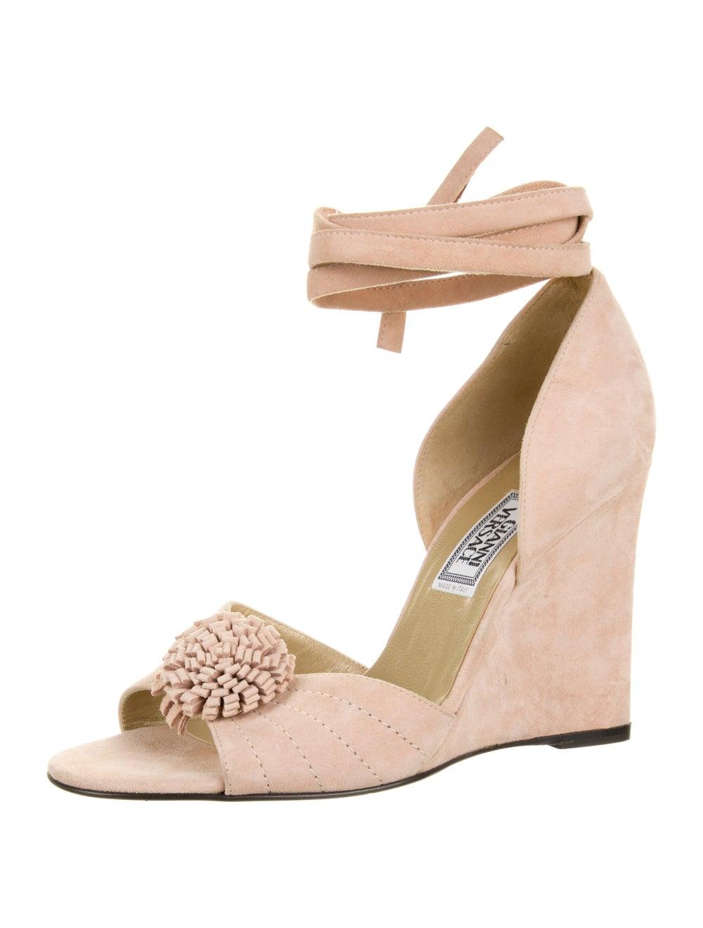 Gianni Versace Vintage Suede Sandals - image 2