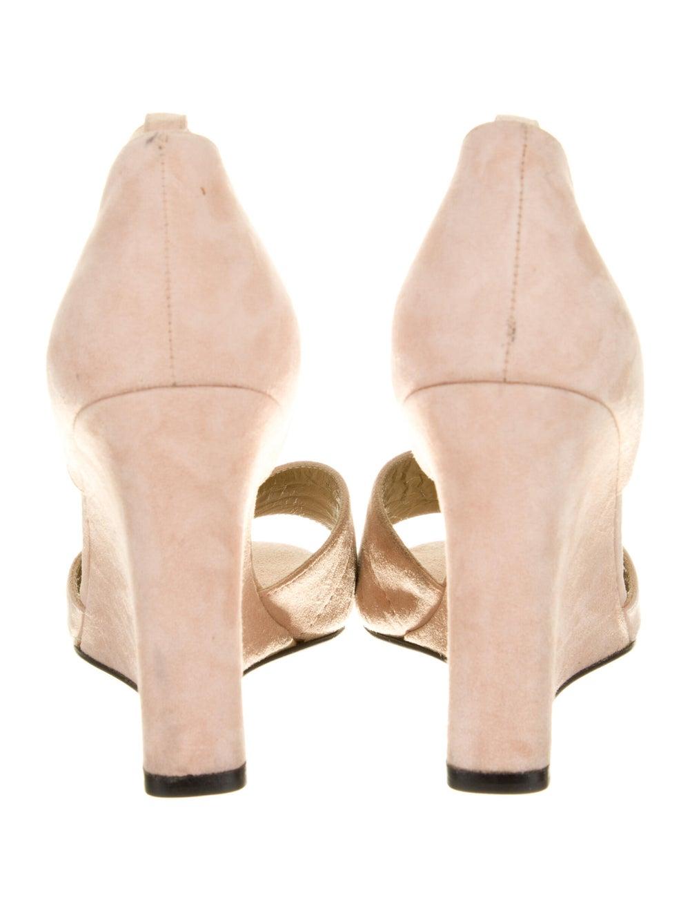 Gianni Versace Vintage Suede Sandals - image 4