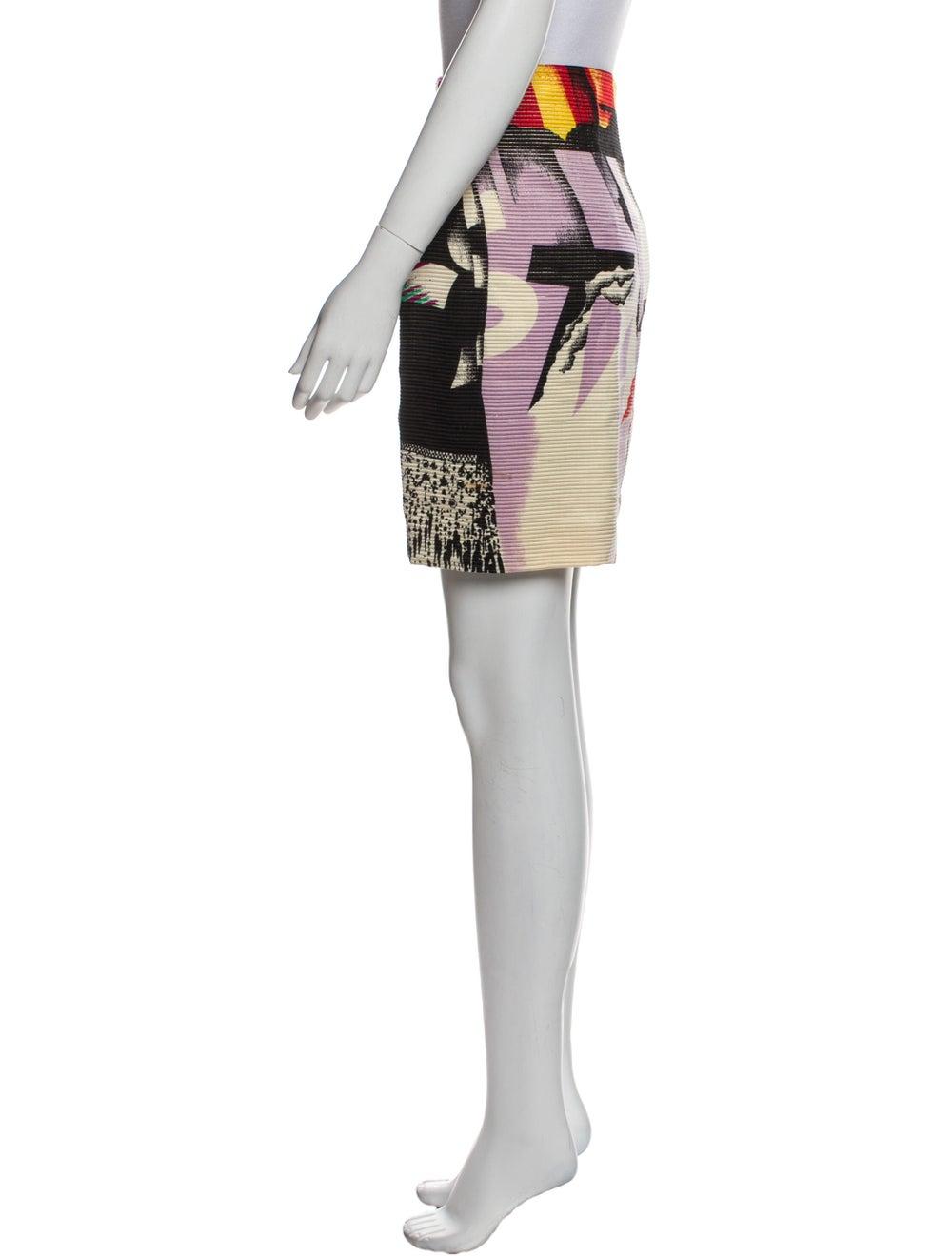 Gianni Versace Vintage Mini Skirt - image 2