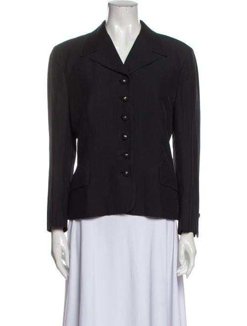 Gianni Versace Vintage Blazer Black - image 1