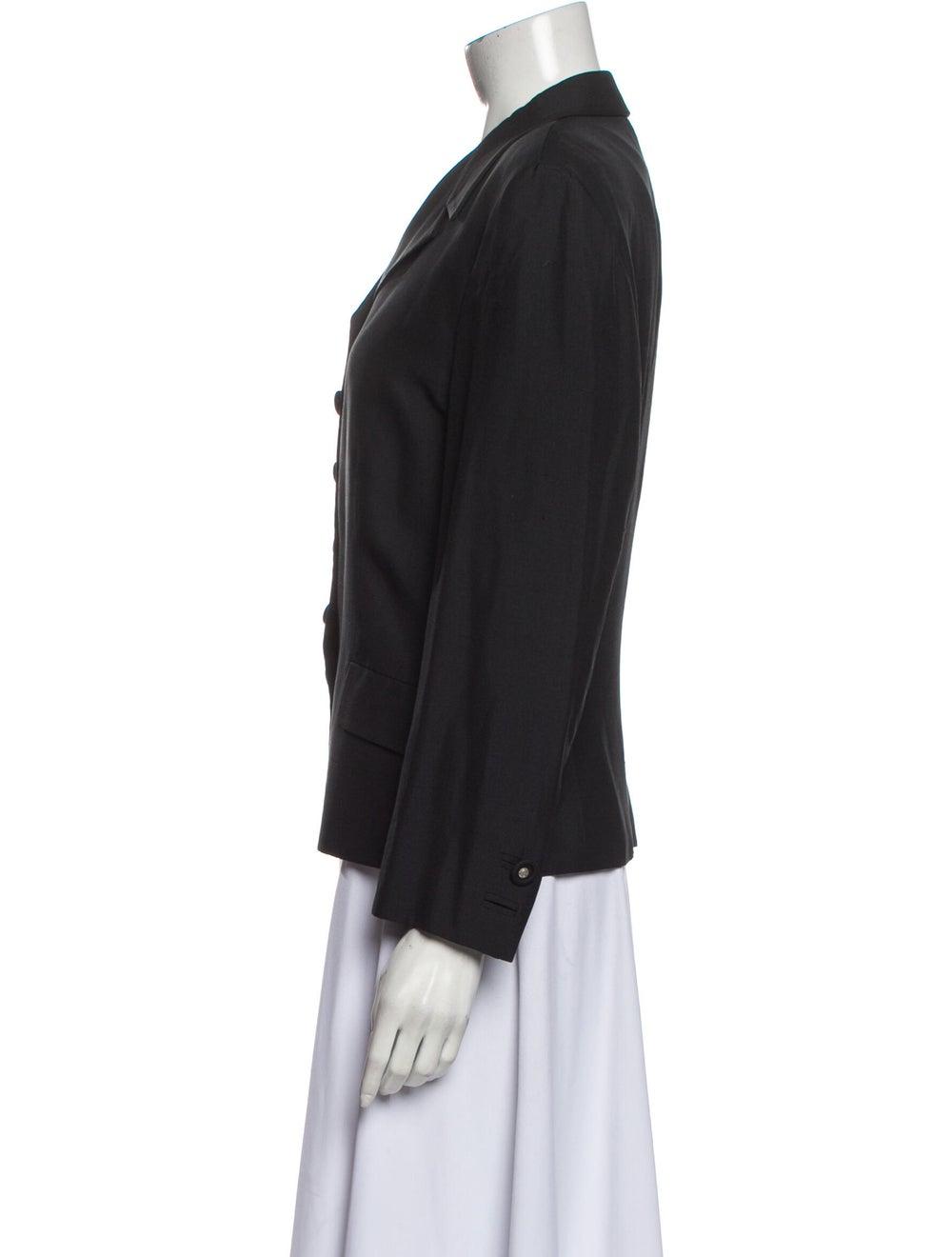 Gianni Versace Vintage Blazer Black - image 2