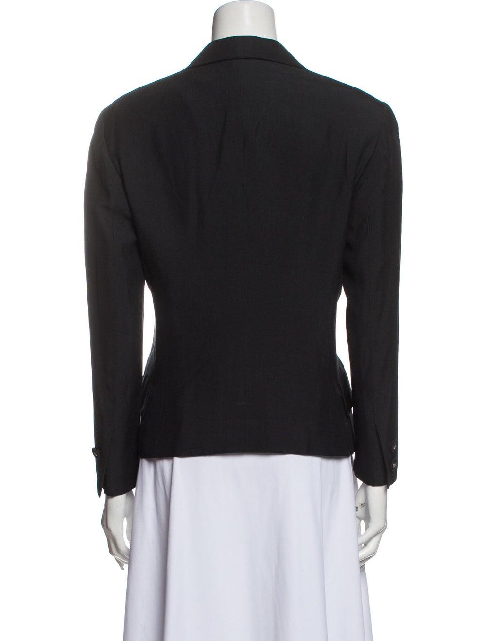 Gianni Versace Vintage Blazer Black - image 3