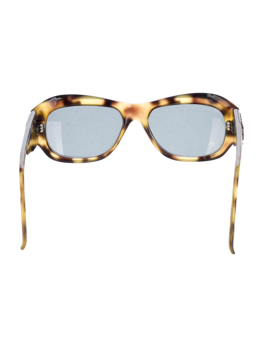 Gianni Versace Cat-Eye Mirrored Sunglasses Brown - image 3