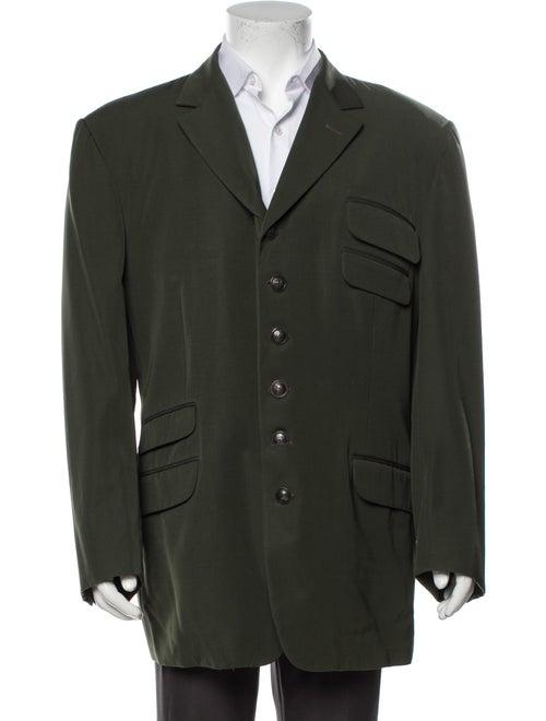 Gianni Versace Wool Blazer Wool