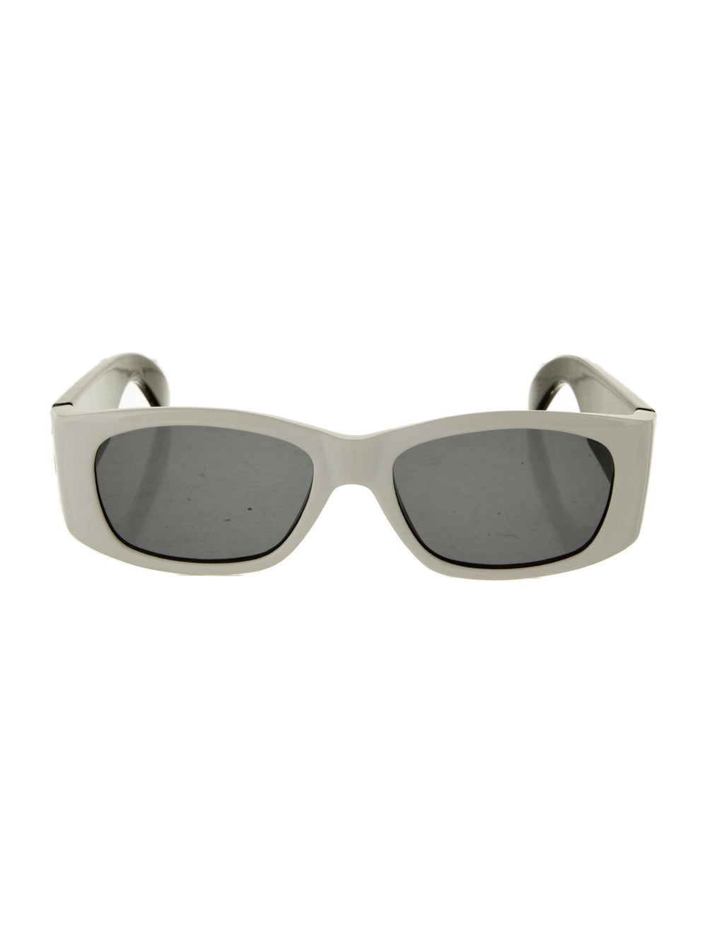 Gianni Versace Square Tinted Sunglasses Black - image 1