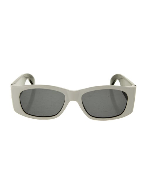 Gianni Versace Square Tinted Sunglasses Black
