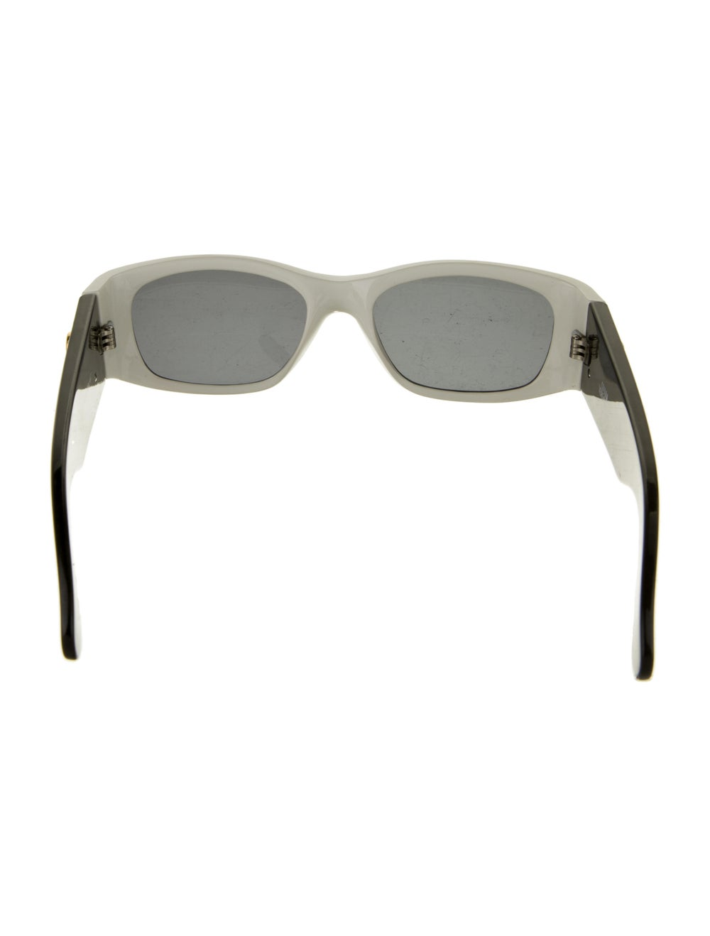 Gianni Versace Square Tinted Sunglasses Black - image 3