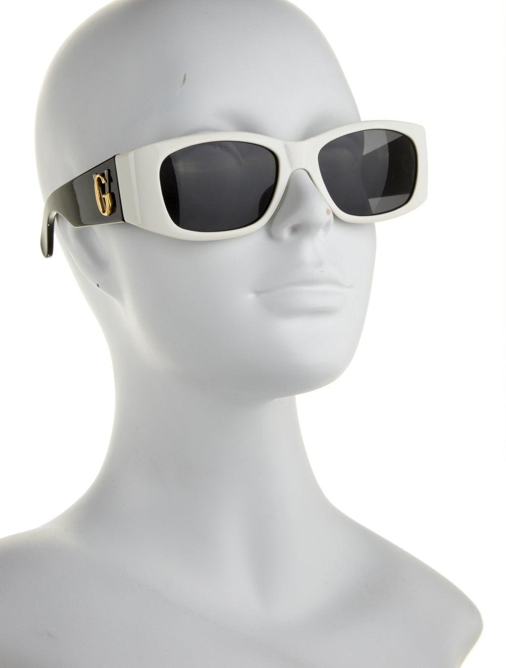 Gianni Versace Square Tinted Sunglasses Black - image 4