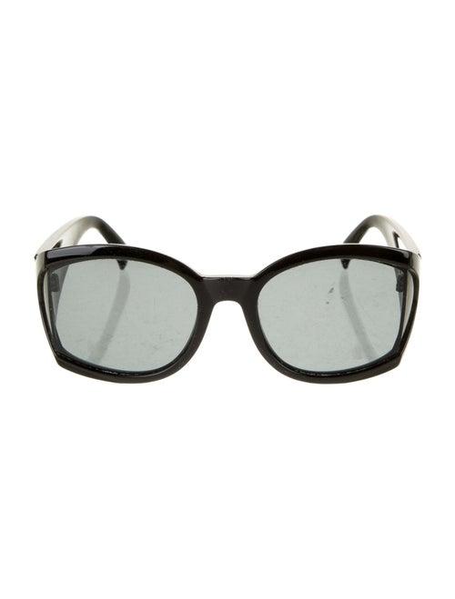 Gianni Versace Oversize Tinted Sunglasses Black - image 1