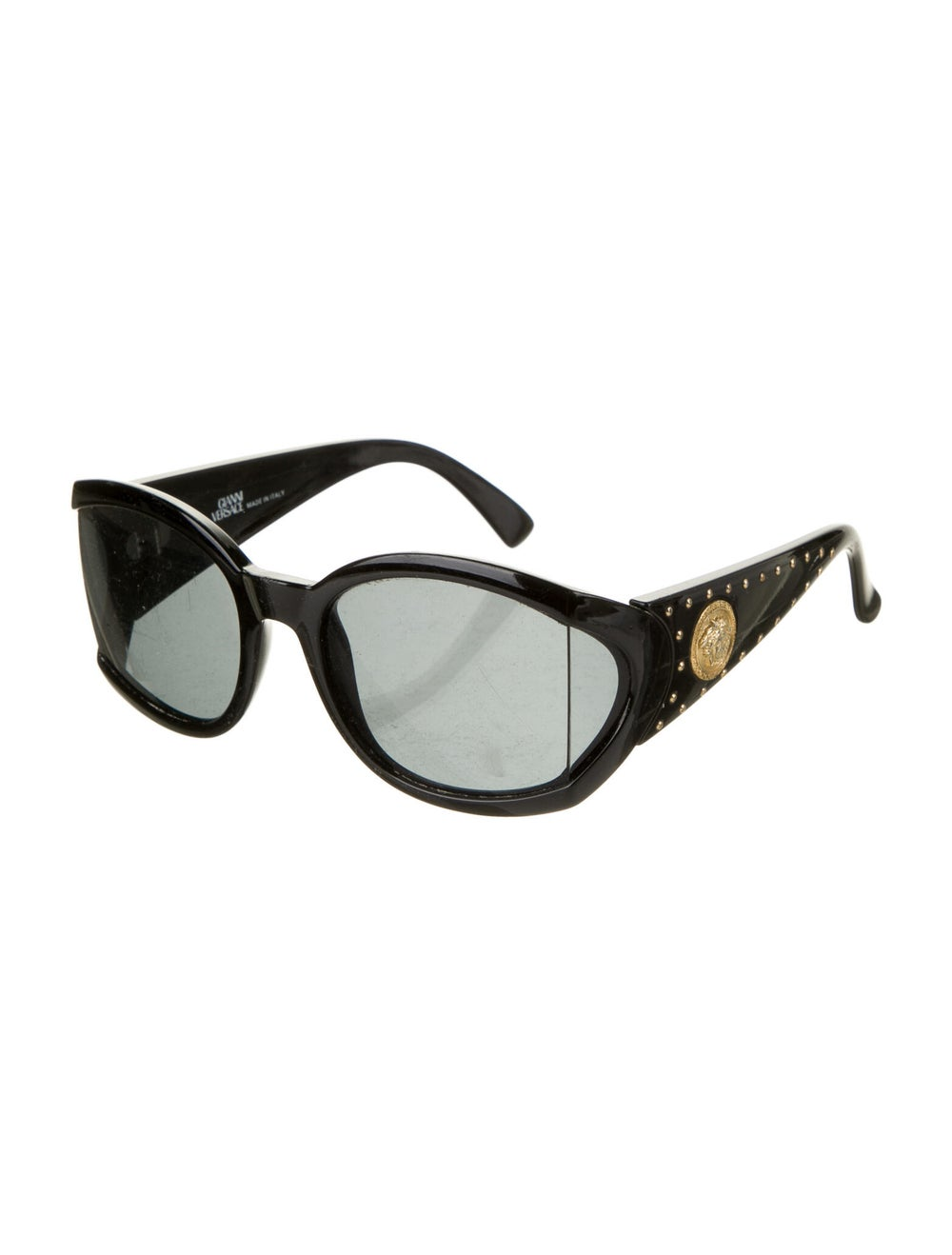 Gianni Versace Oversize Tinted Sunglasses Black - image 2