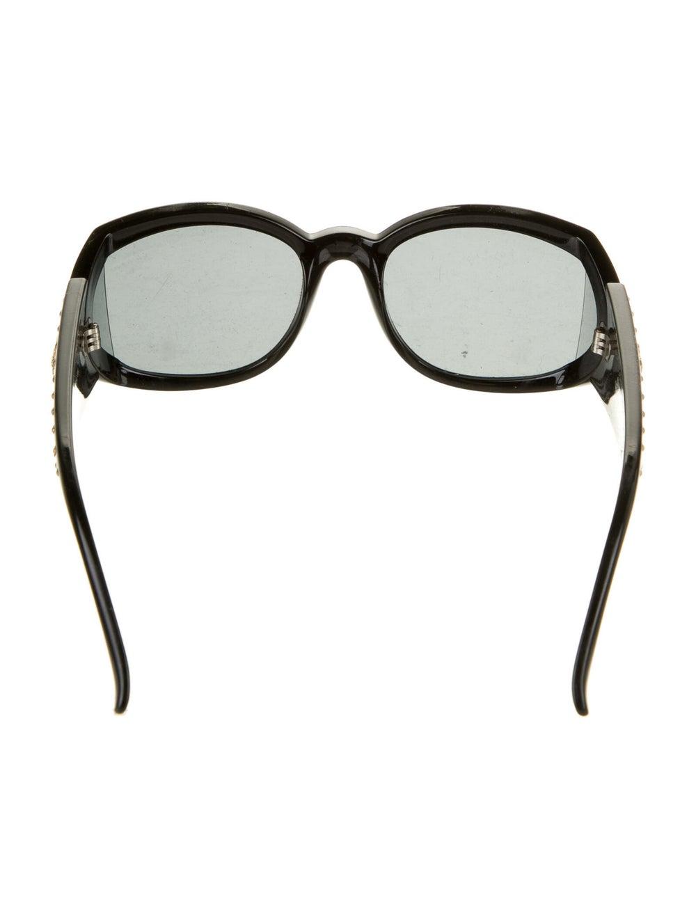 Gianni Versace Oversize Tinted Sunglasses Black - image 3