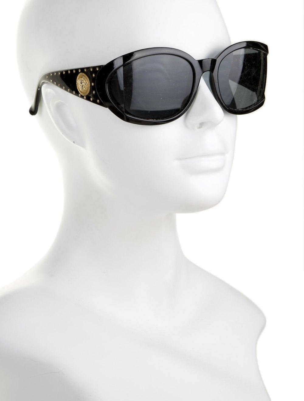 Gianni Versace Oversize Tinted Sunglasses Black - image 4