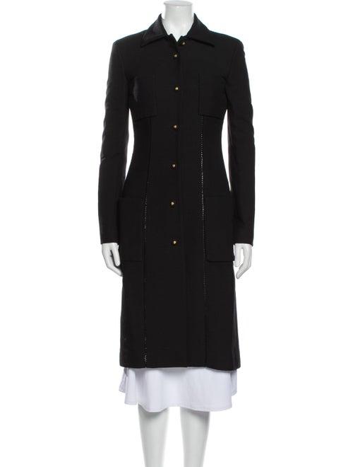Gianni Versace Vintage Coat Black - image 1
