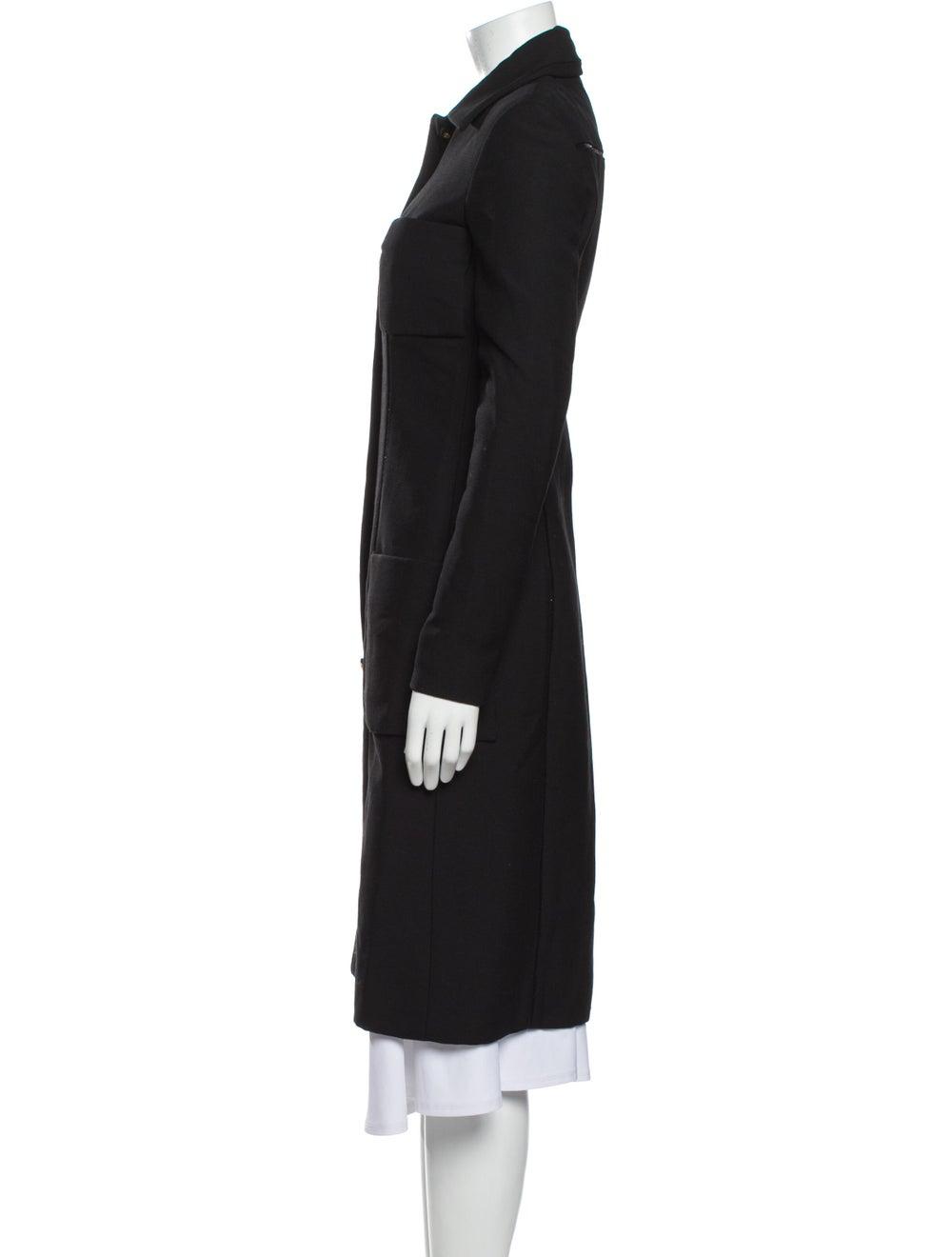 Gianni Versace Vintage Coat Black - image 2