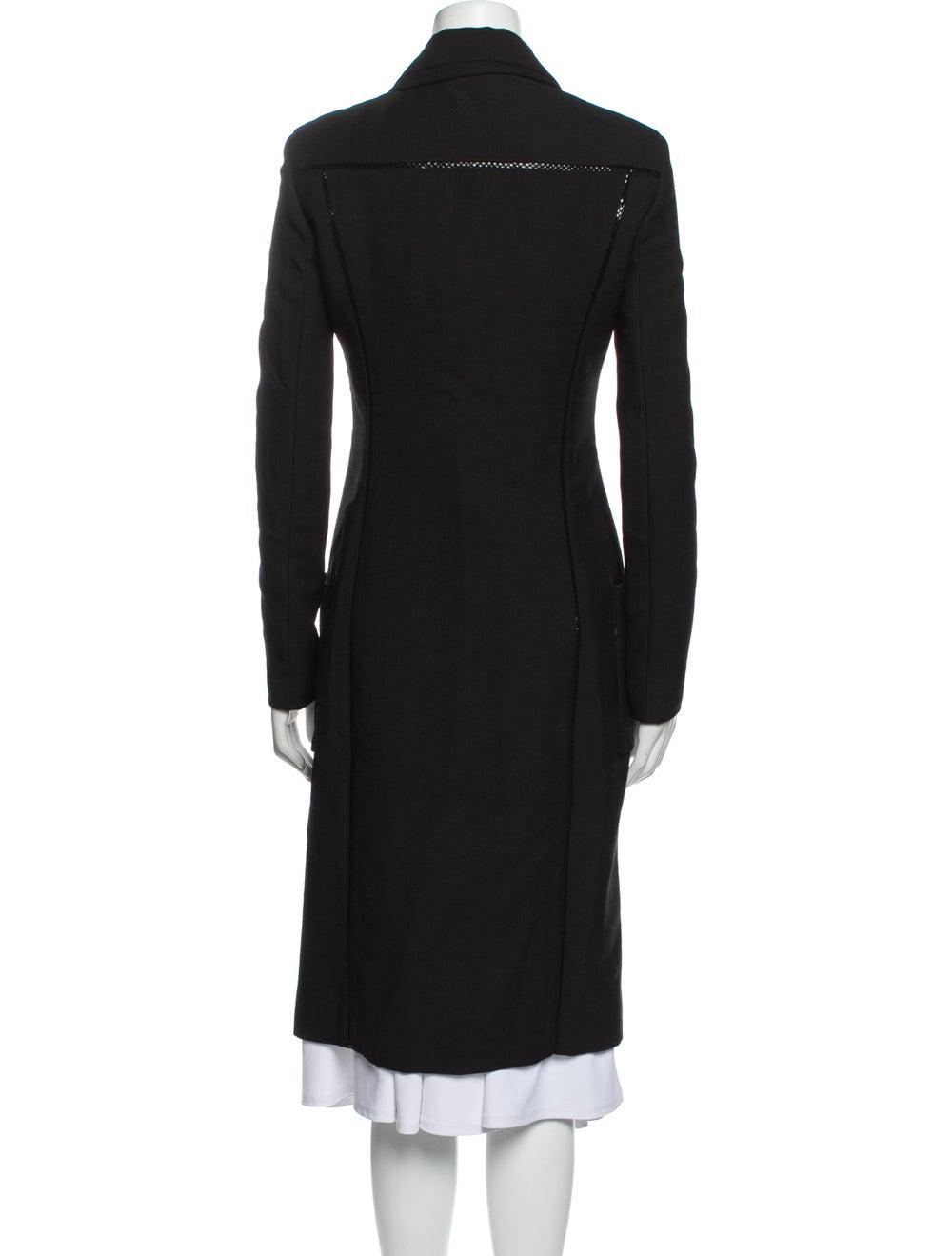 Gianni Versace Vintage Coat Black - image 3