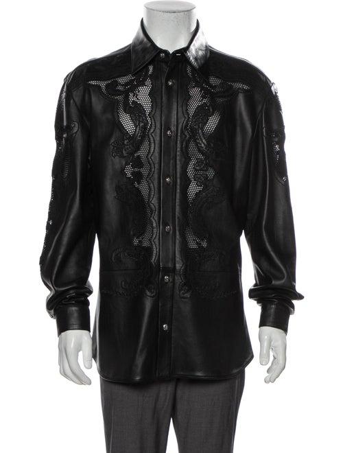 Gianni Versace Vintage 1990's Shirt Black