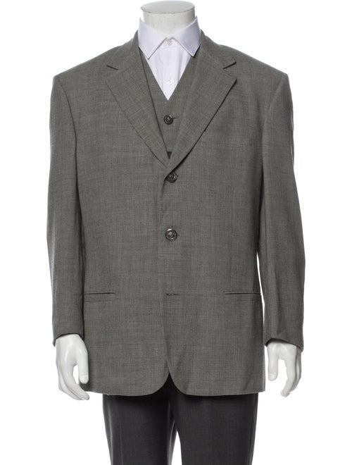 Gianni Versace Wool Two-Piece Blazer Wool - image 1