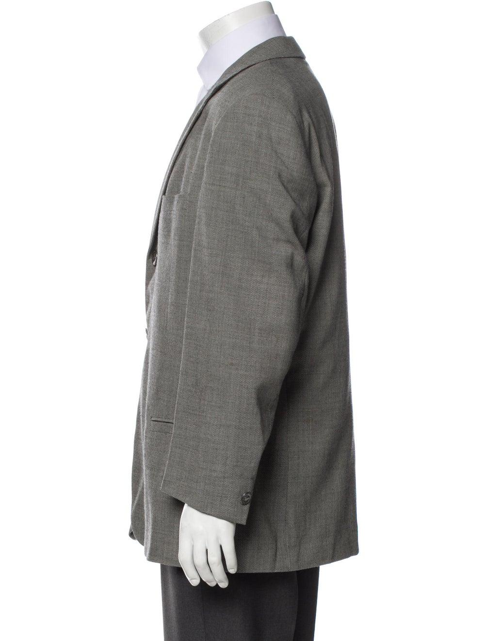 Gianni Versace Wool Two-Piece Blazer Wool - image 2