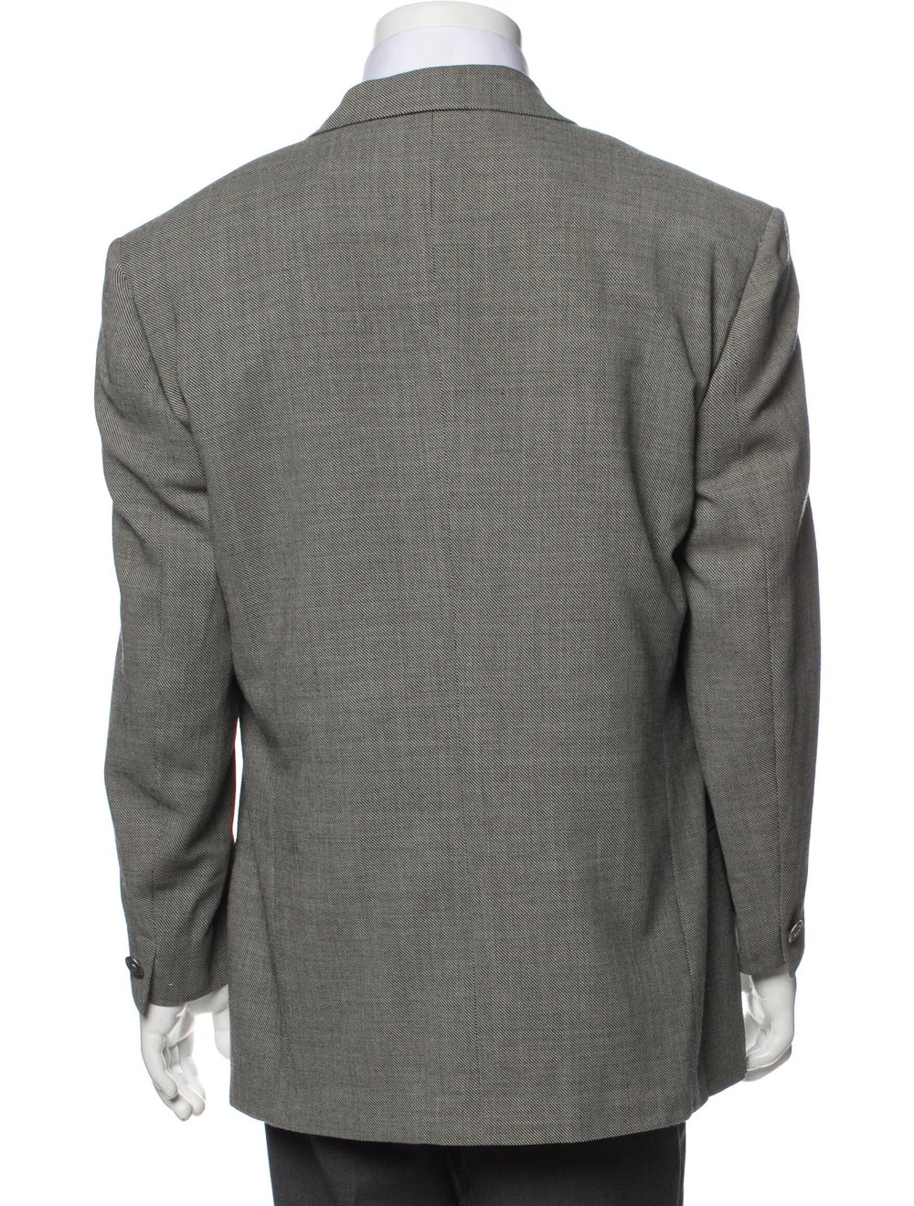Gianni Versace Wool Two-Piece Blazer Wool - image 3