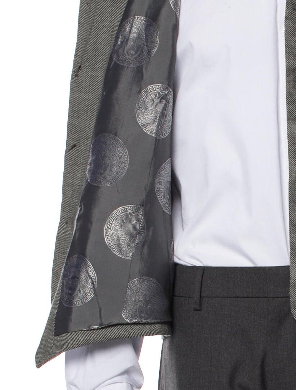 Gianni Versace Wool Two-Piece Blazer Wool - image 6
