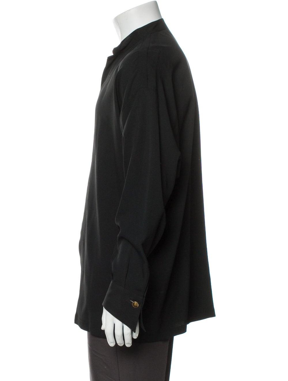 Gianni Versace Vintage 1990's Shirt Black - image 2
