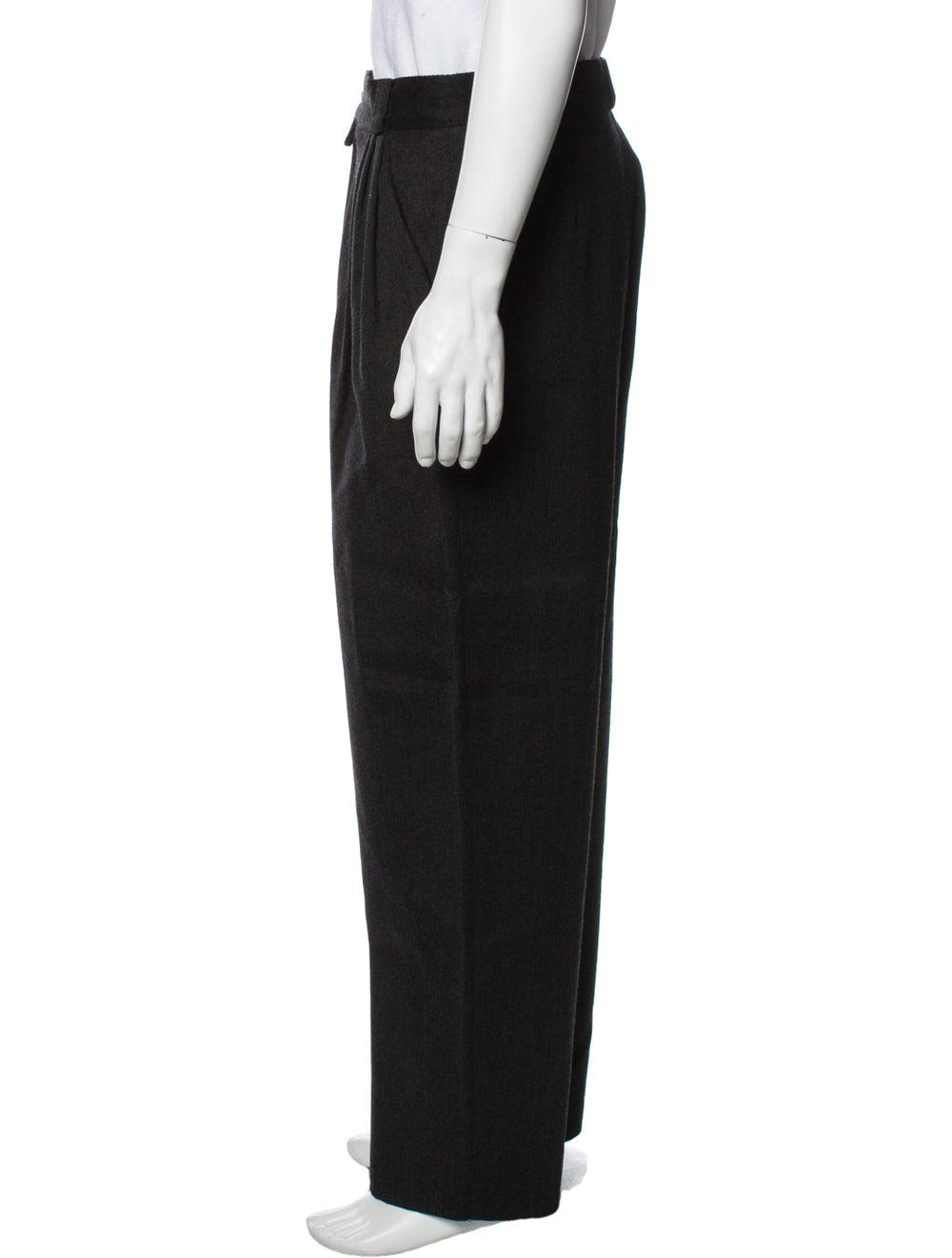 Gianni Versace Vintage Pants Wool - image 2