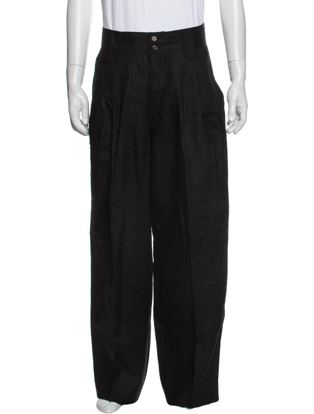 Gianni Versace Vintage Pants Black - image 1