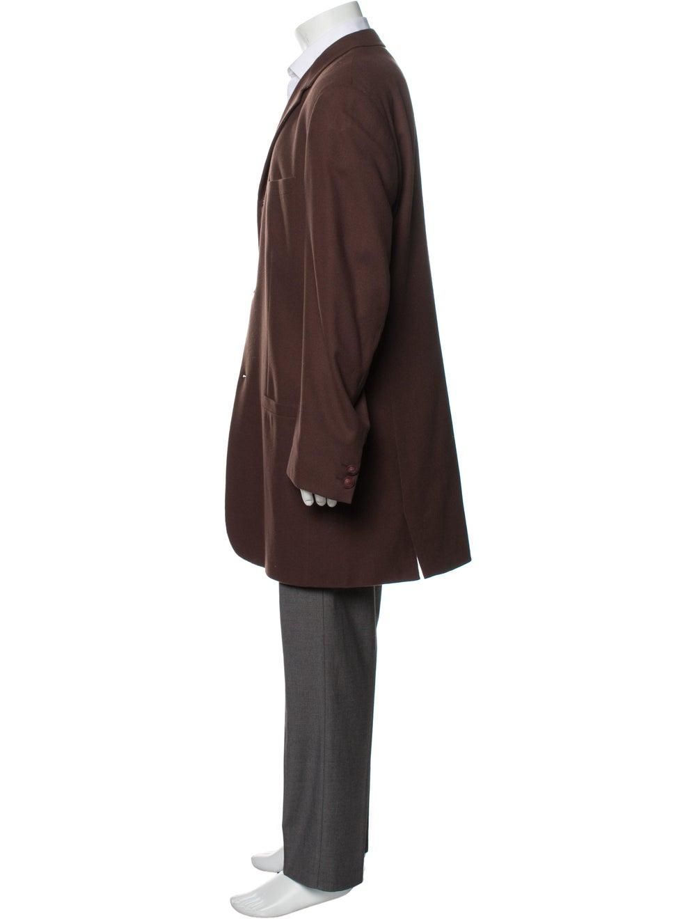 Gianni Versace Vintage Overcoat Brown - image 2