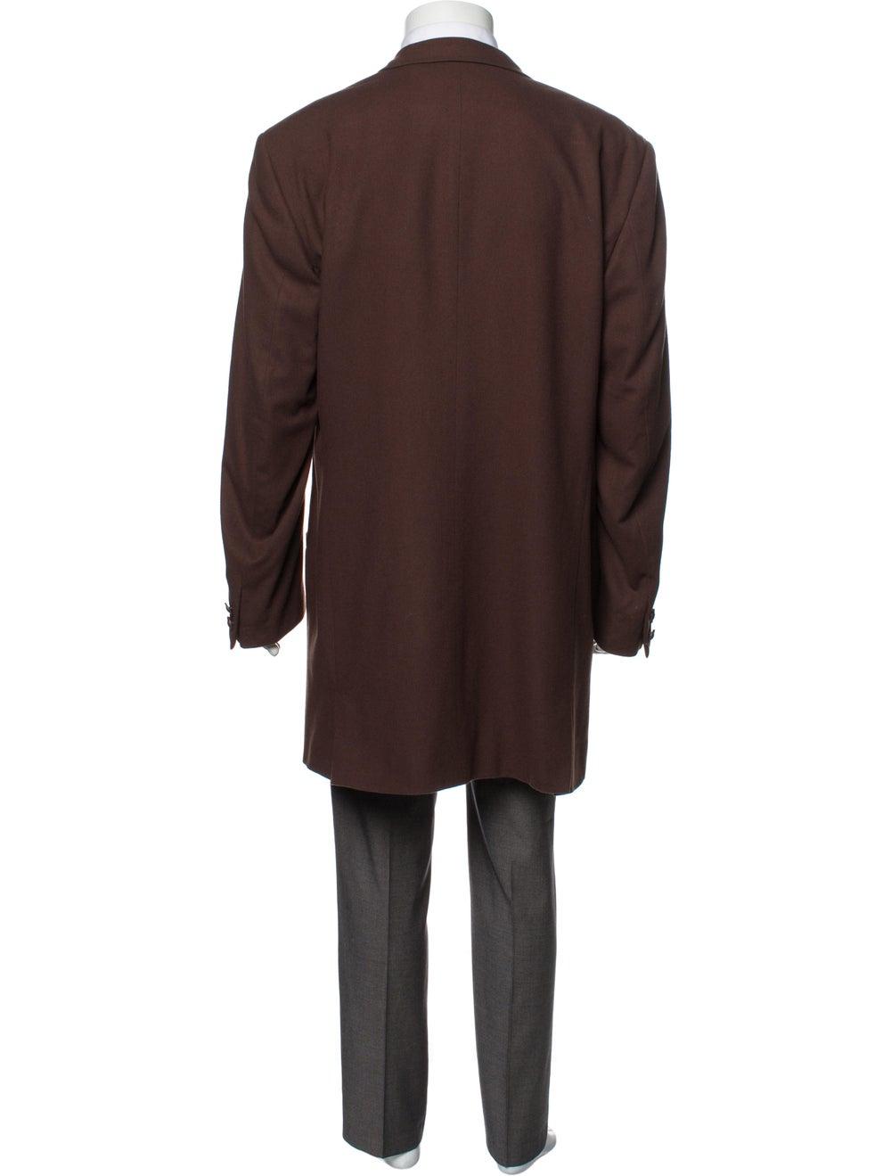 Gianni Versace Vintage Overcoat Brown - image 3