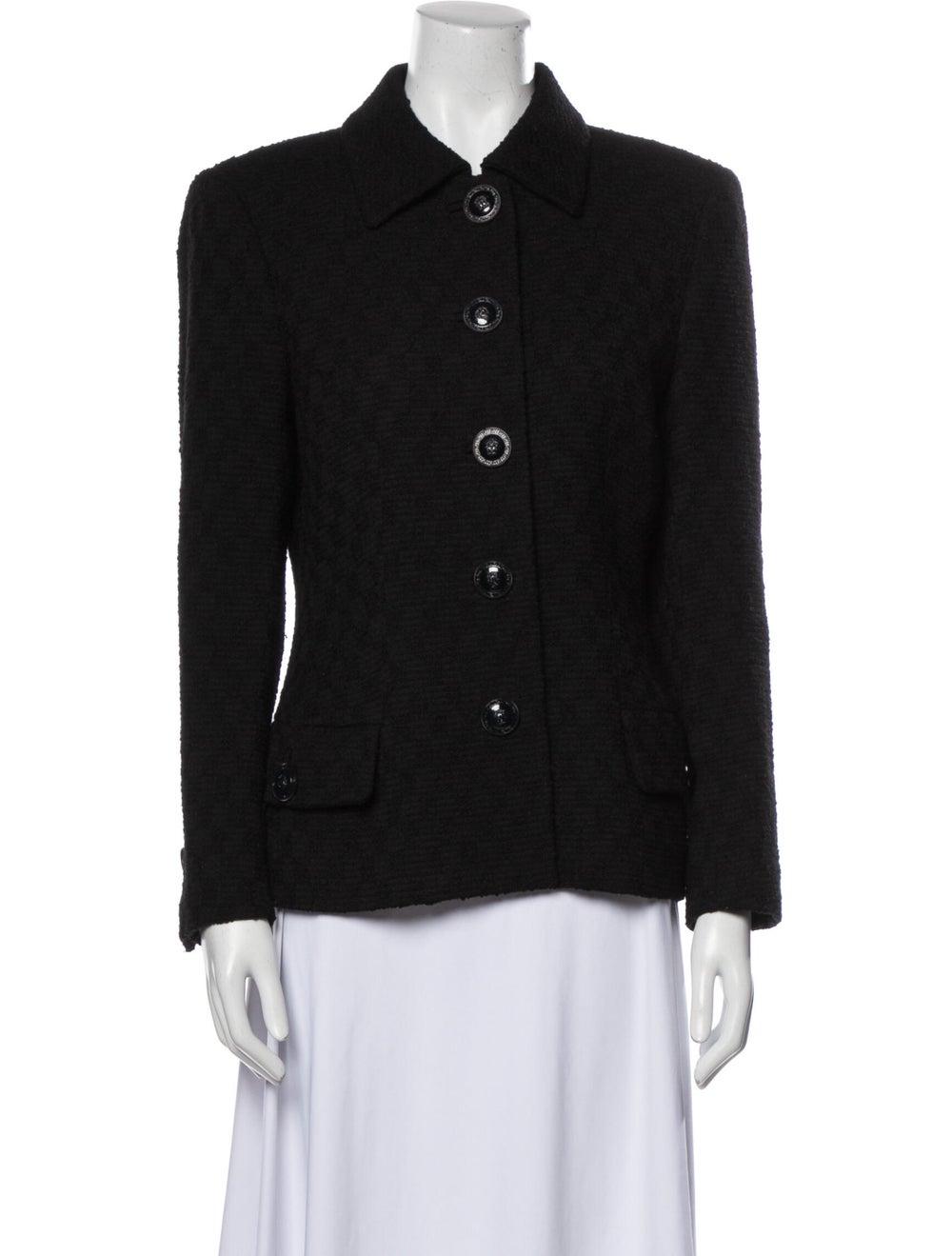 Gianni Versace Wool Blazer Wool - image 1
