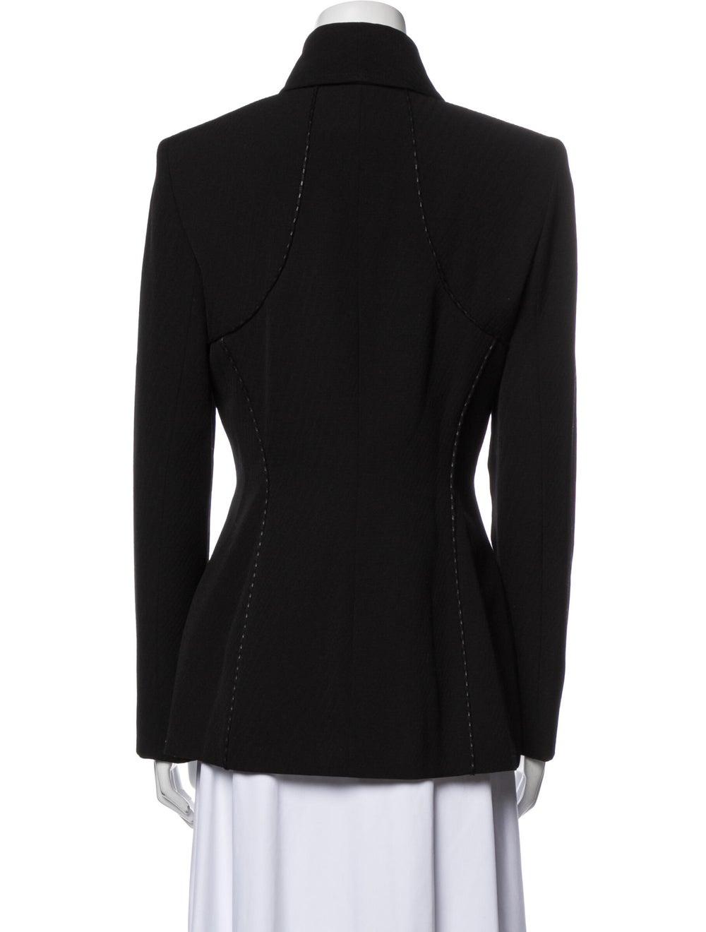 Gianni Versace Wool Blazer Wool - image 3