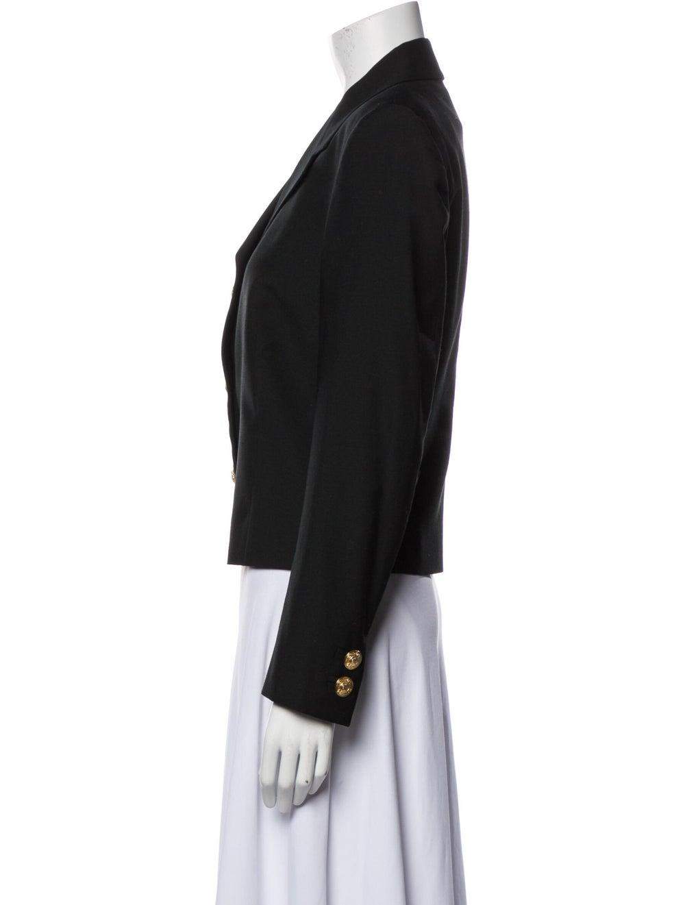Gianni Versace Wool Blazer Wool - image 2