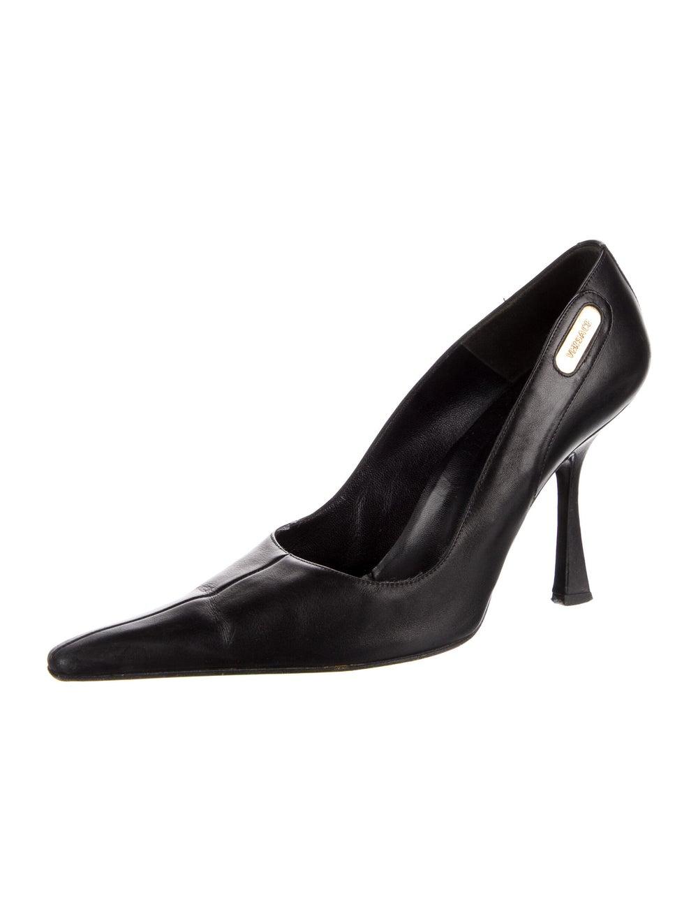 Gianni Versace Leather Pumps Black - image 2