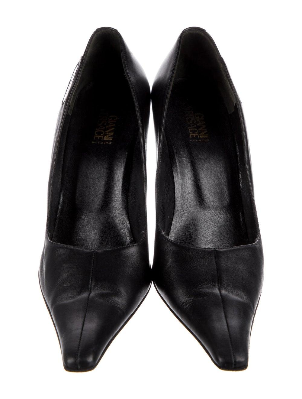 Gianni Versace Leather Pumps Black - image 3