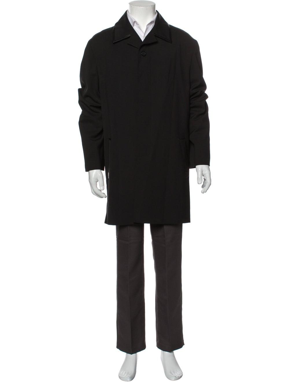 Gianni Versace Overcoat Black - image 1