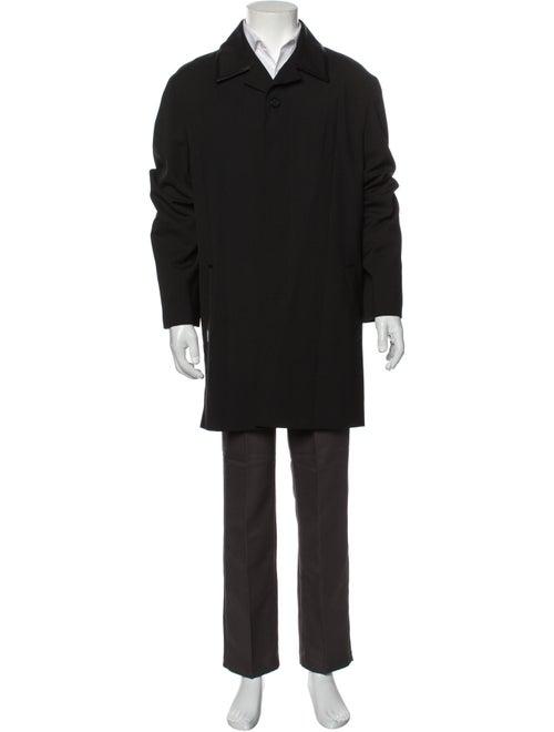 Gianni Versace Overcoat Black