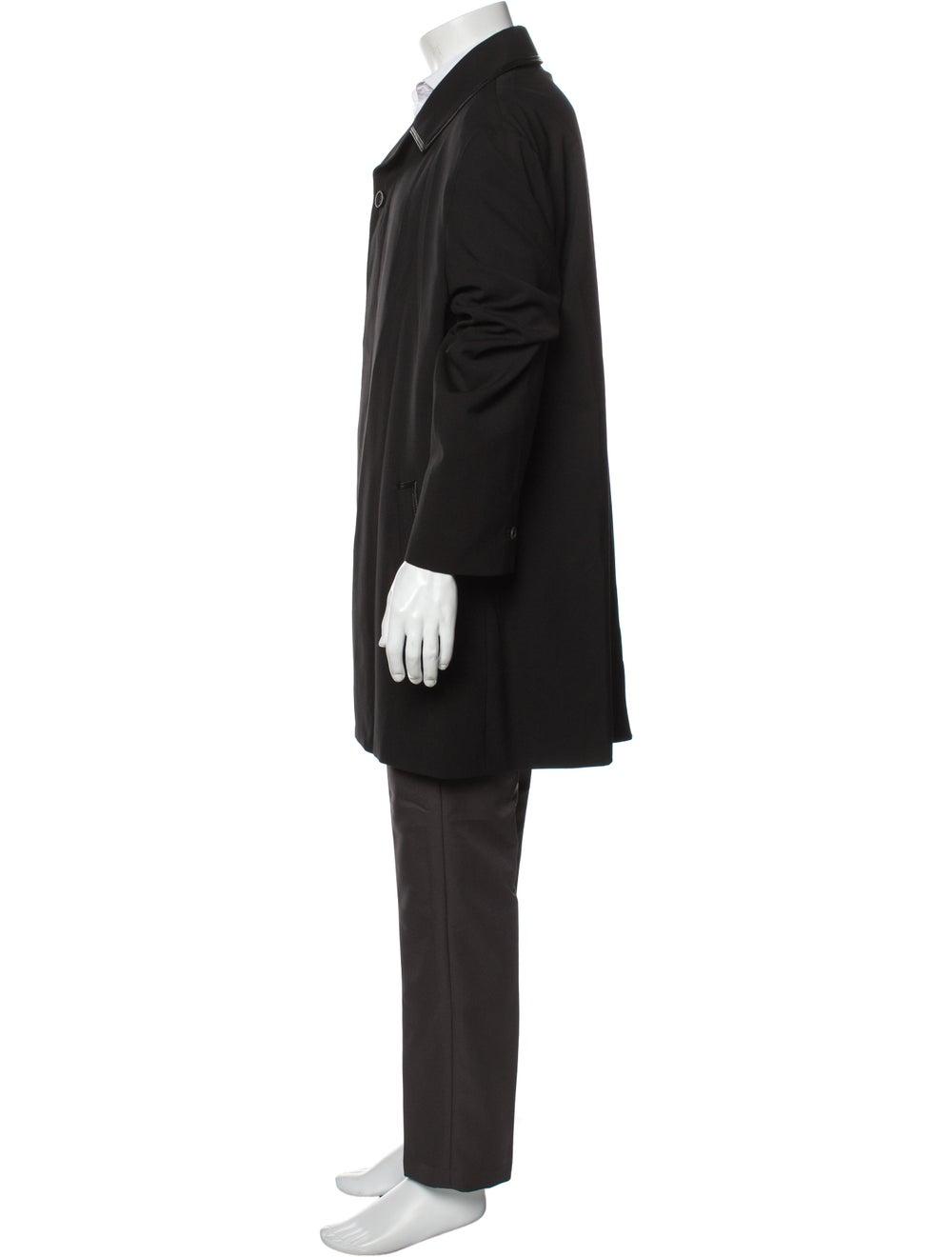 Gianni Versace Overcoat Black - image 2