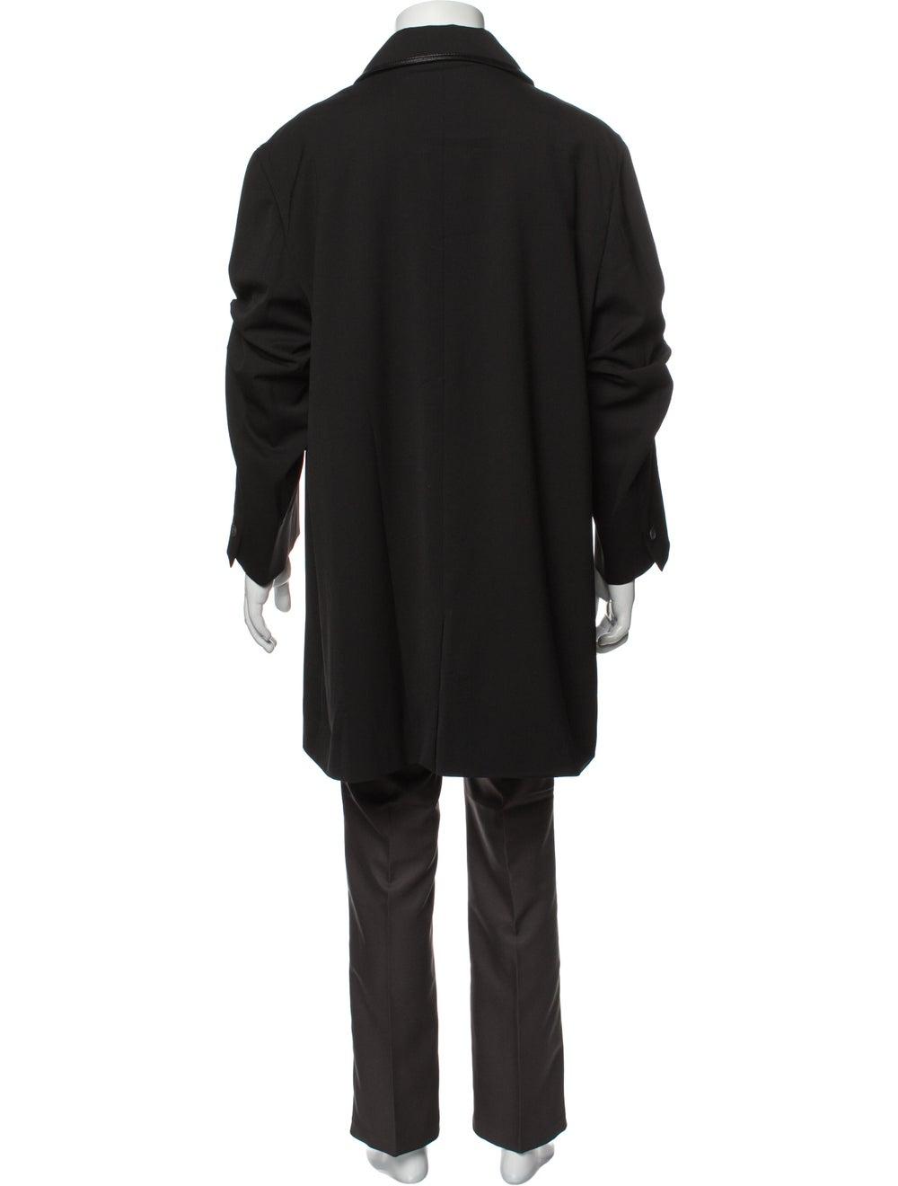 Gianni Versace Overcoat Black - image 3