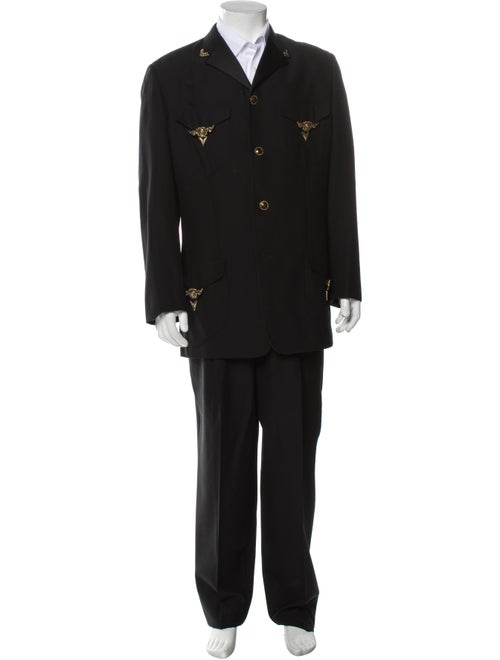 Gianni Versace 1992 Wool Two-Piece Suit Wool