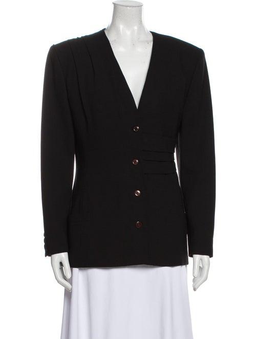 Gianni Versace Vintage 1989 Blazer Wool