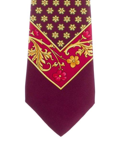 Gianni Versace Silk Printed Tie