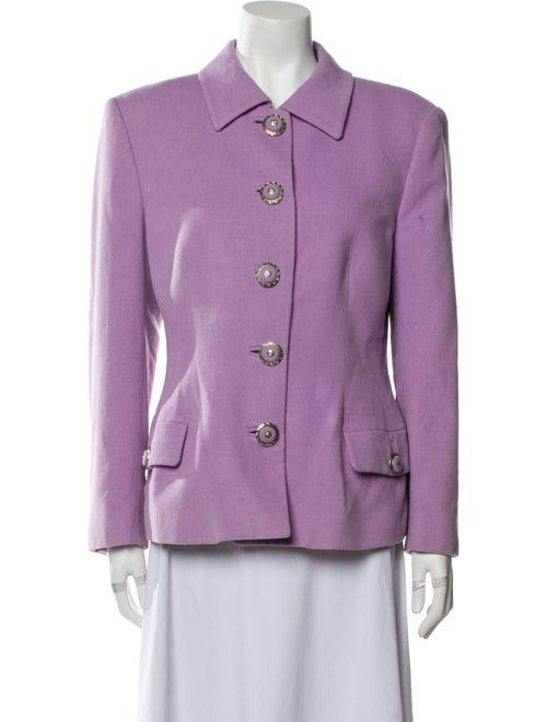 Gianni Versace Blazer Purple