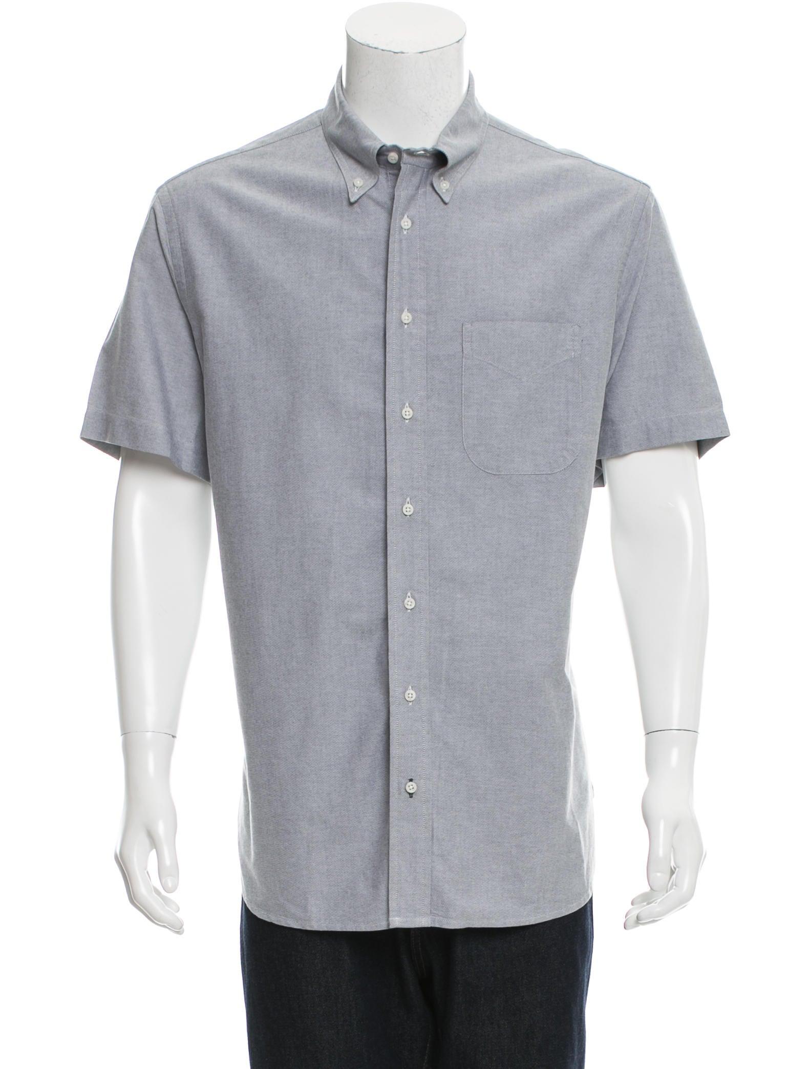 Gitman Brothers Short Sleeve Button Up Shirt Clothing