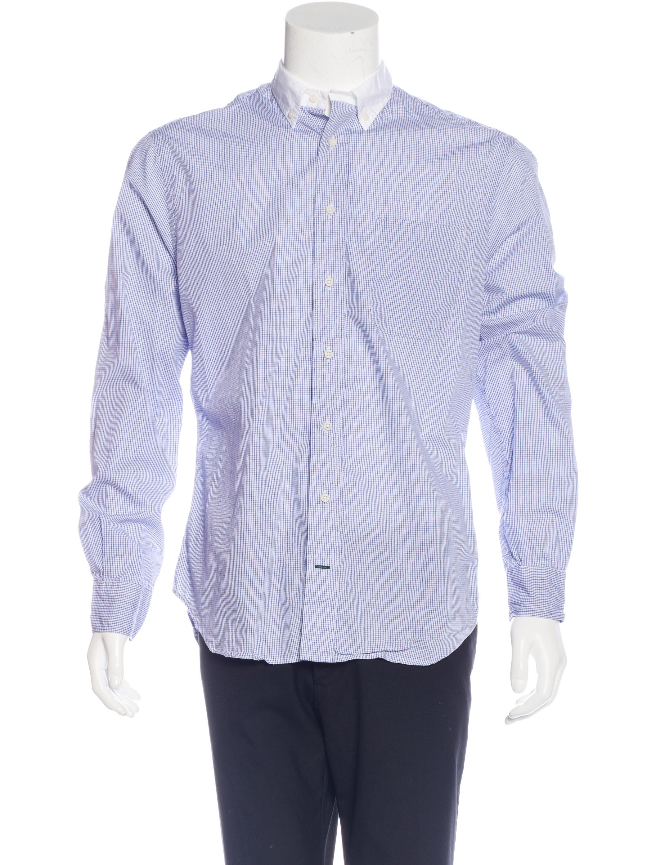 Gitman Brothers Check Button Up Shirt Clothing
