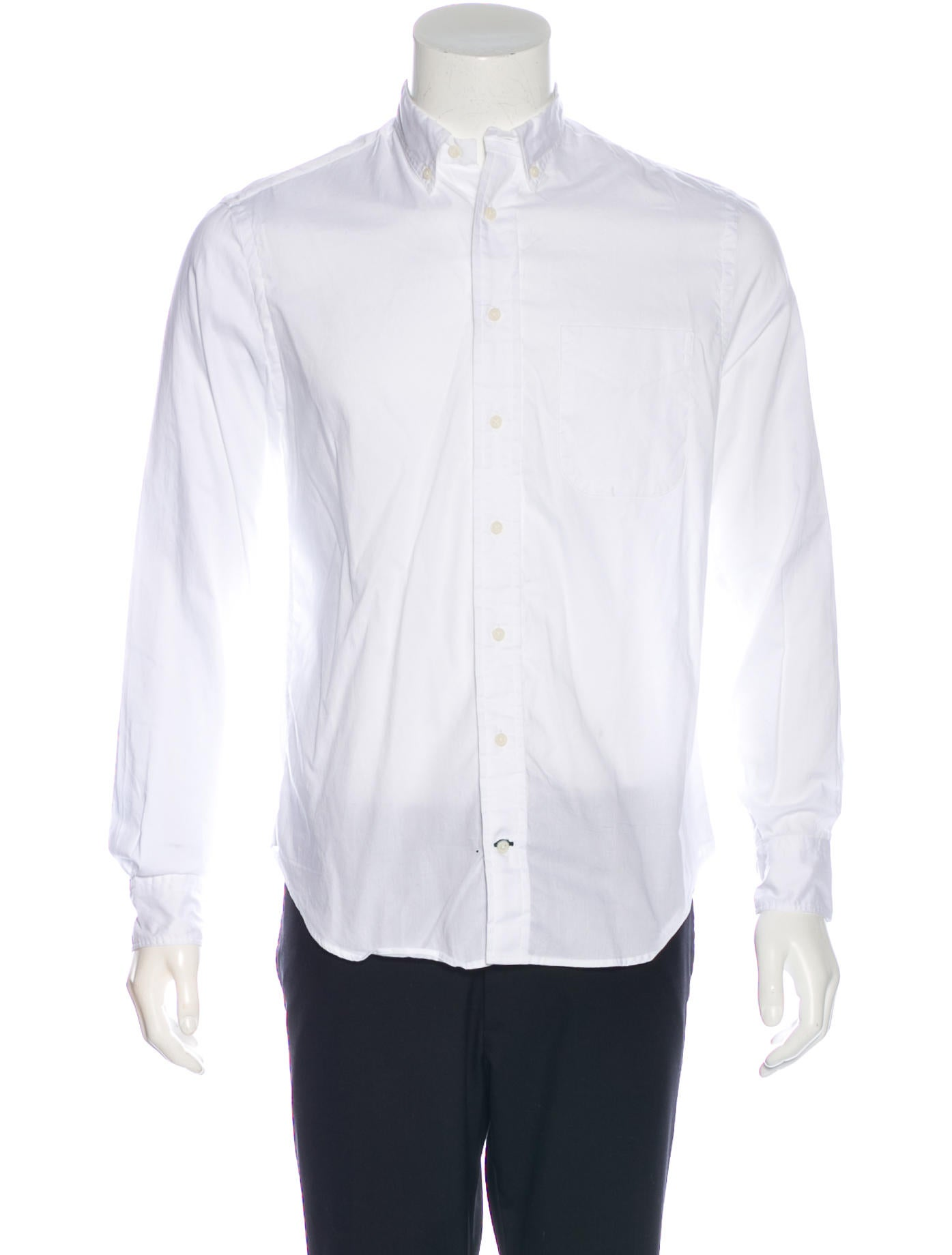 Gitman Brothers Woven Button Up Shirt Clothing